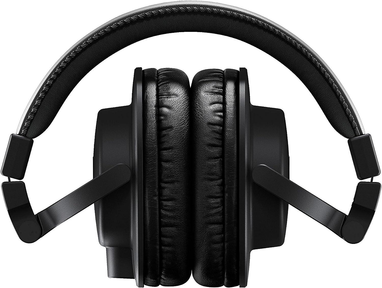 Yamaha Hph Mt5 Studio Kopfhörer Faltbare Monitor Kopfhörer Mit 3 M Kabel Und 6 3 Mm Standard Stereo Adapterstecker Schwarz Musikinstrumente