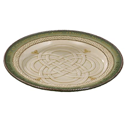 Grasslands Road Celtic 11-Inch Dinner Plate with Good Wish Message And Stand  sc 1 st  Amazon.com & Amazon.com | Grasslands Road Celtic 11-Inch Dinner Plate with Good ...