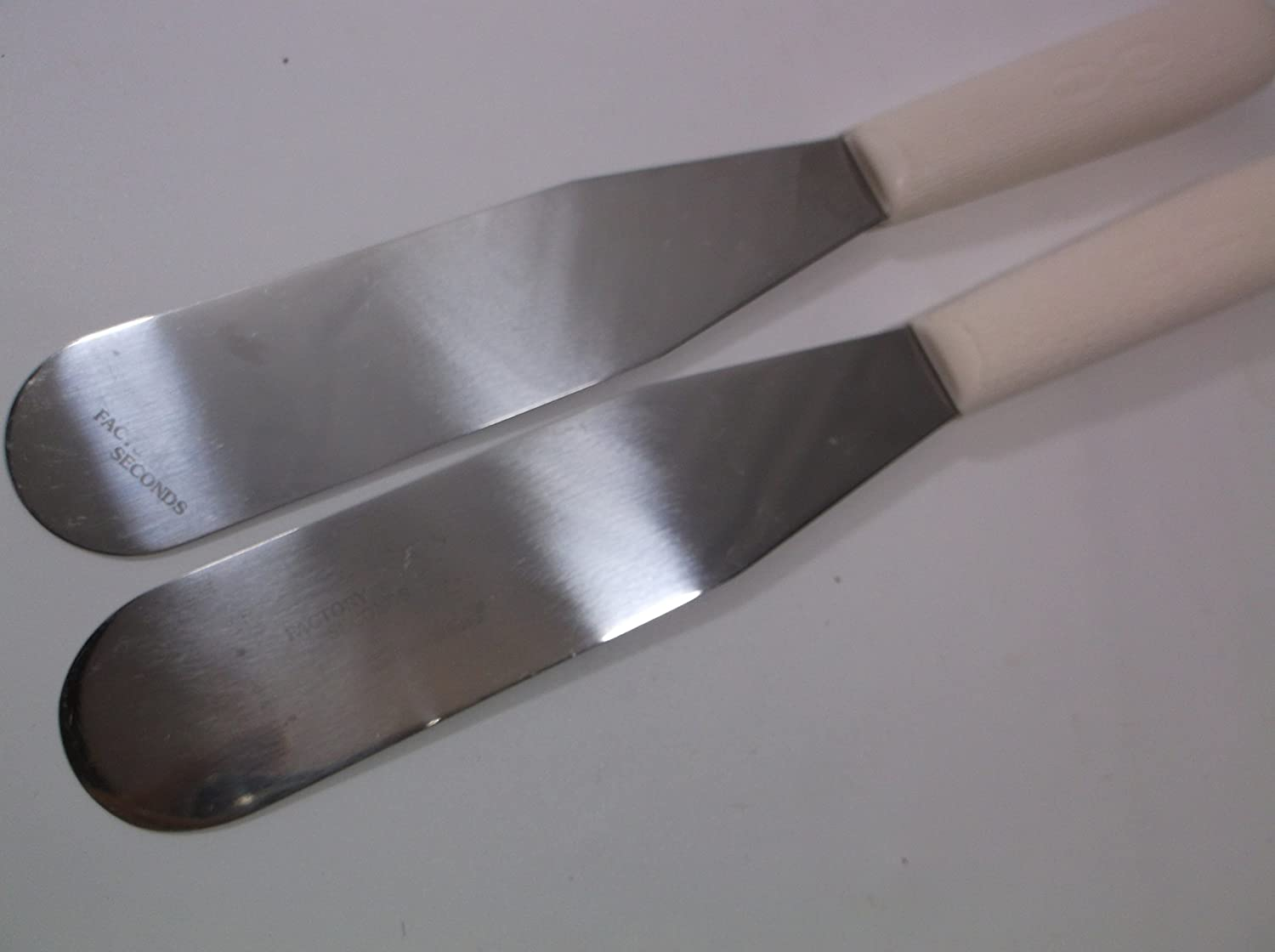 Bakers Spatulas Semi Flex Blades Set of Never Used Factory seconds Bundle Lot of 2 Dexter Russell USA 6.5X1.5 S284-6 1//2 2