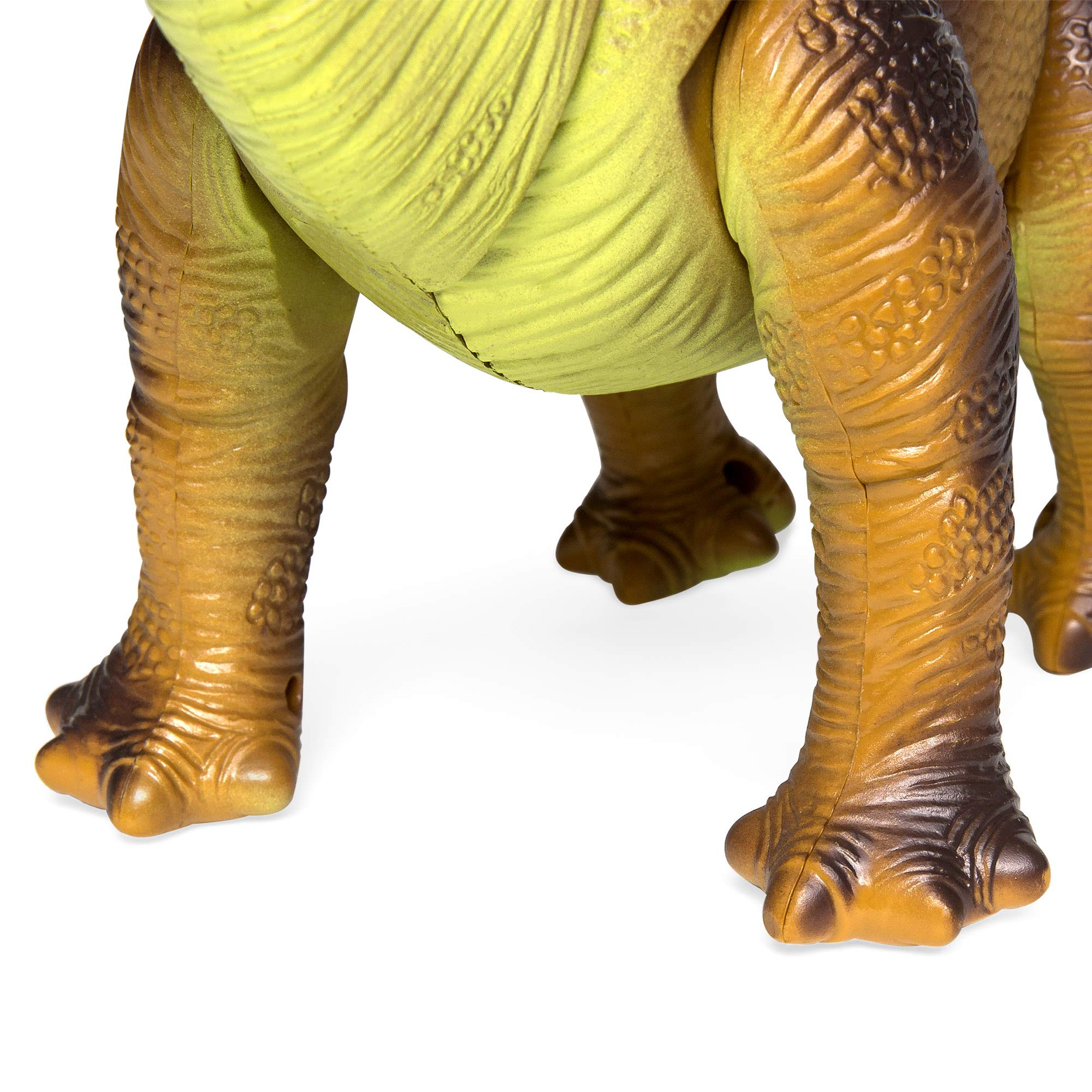Best Choice Products 17.5in Kids RC Stomping Brachiosaurus Dinosaur Electric Animal Toy Robot w/ Light Up Eyes, Roaring Sounds, Swinging Head, Remote Control by Best Choice Products (Image #5)