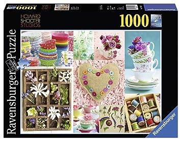 Ravensburger - Howard Shooter: dulces coloridos, puzzle de 1000 piezas (19369 1): Amazon.es: Juguetes y juegos