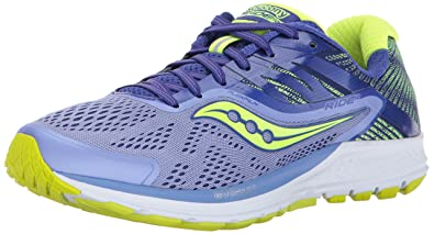 Saucony Ride 10 Women 6 Purple | Blue | Citron