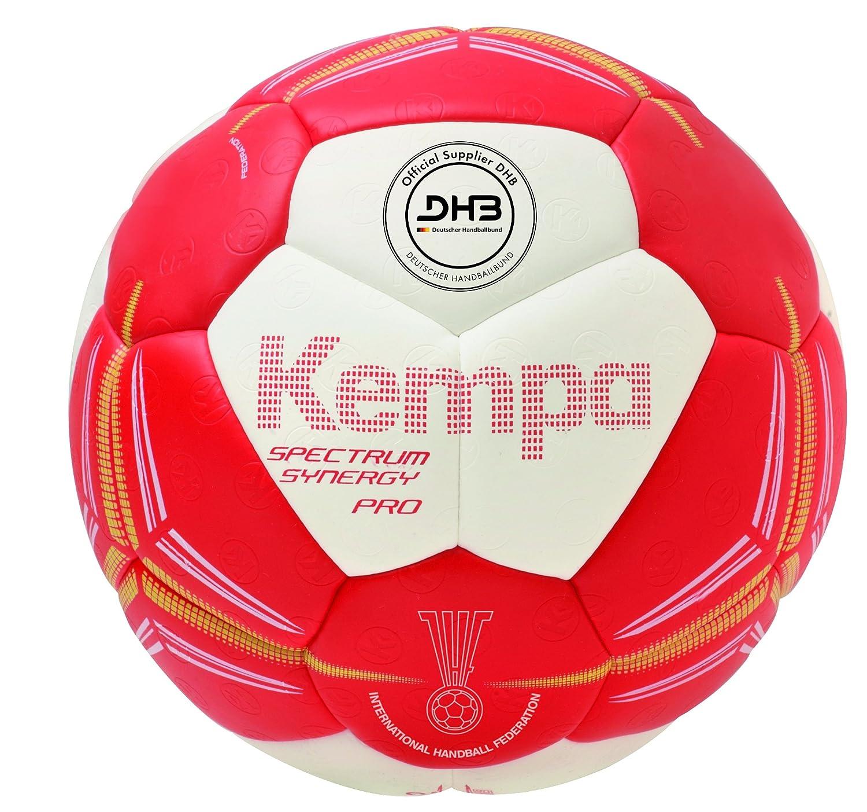 Kempa Spectrum Synergy Pro Balón, Rojo/Blanco/Lima, 2: Amazon.es ...