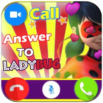 Amazon com: Instant Fake Call Prank from Ladybug - Free Fake Phone