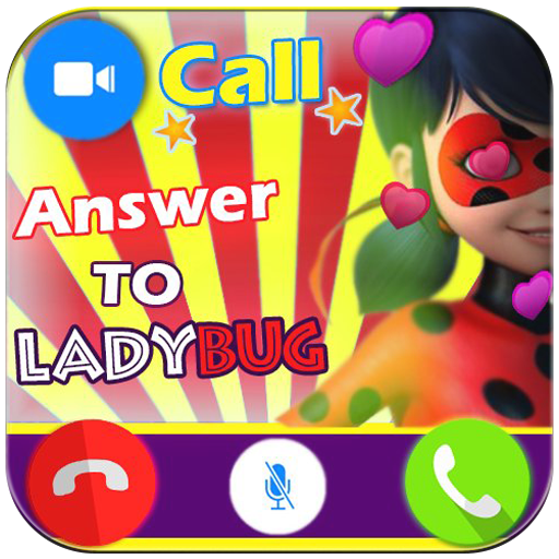 Instant Fake Call Prank from Ladybug - Free Fake Phone Call ID PRO - PRANK FOR KIDS 2018 (Best April Fools Jokes For Kids)