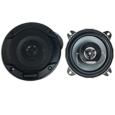 Kenwood KFC-1066S 220 Watt 4-Inch 2-Way Coaxial Flush Mount Speakers - Pair: Electronics