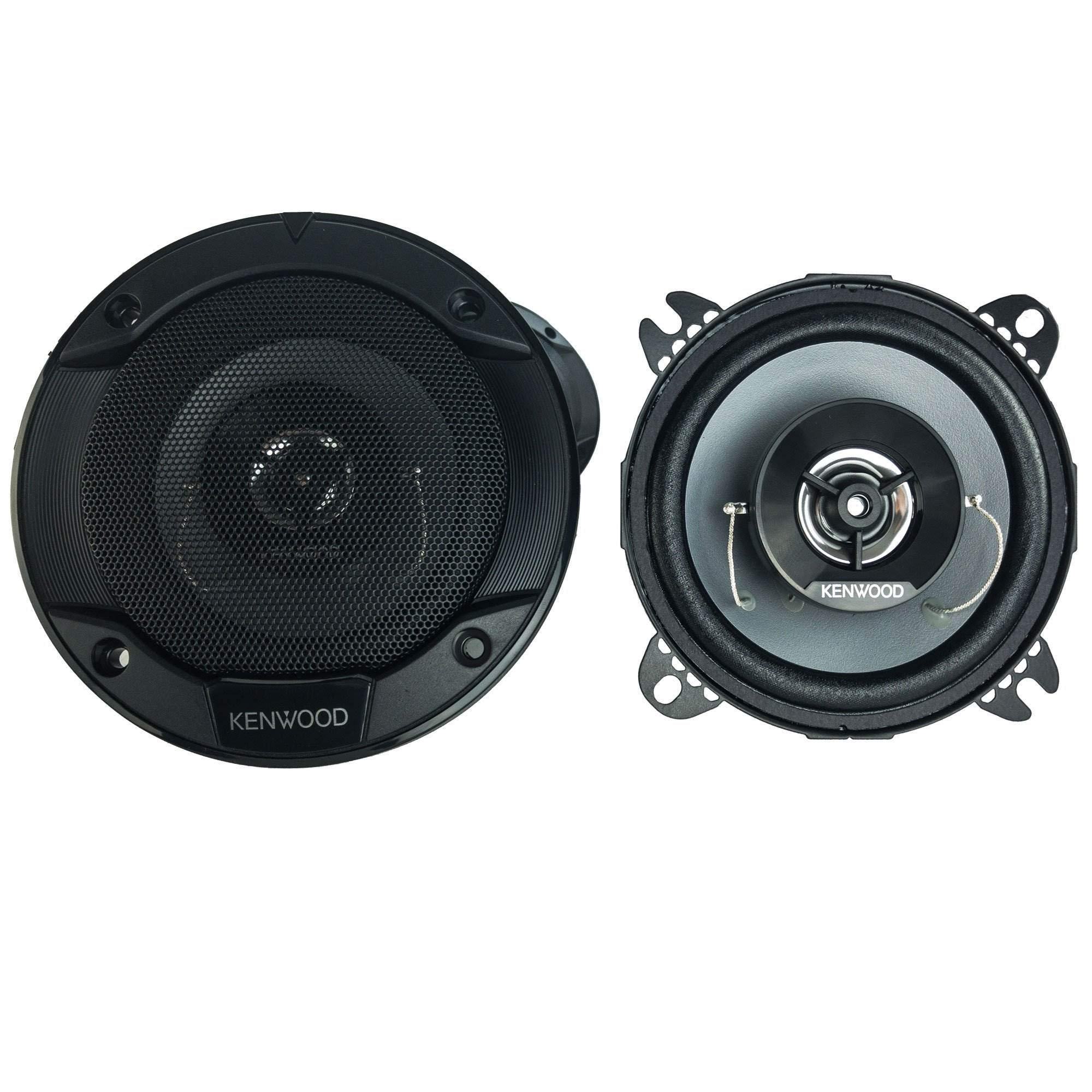 Yellow 2 Pack KICKER CS Series CSC4 4 Inch Car Audio Speaker with Woofers