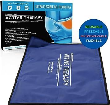 Amazon.com: Paquete de gel de terapia activa caliente y fría ...