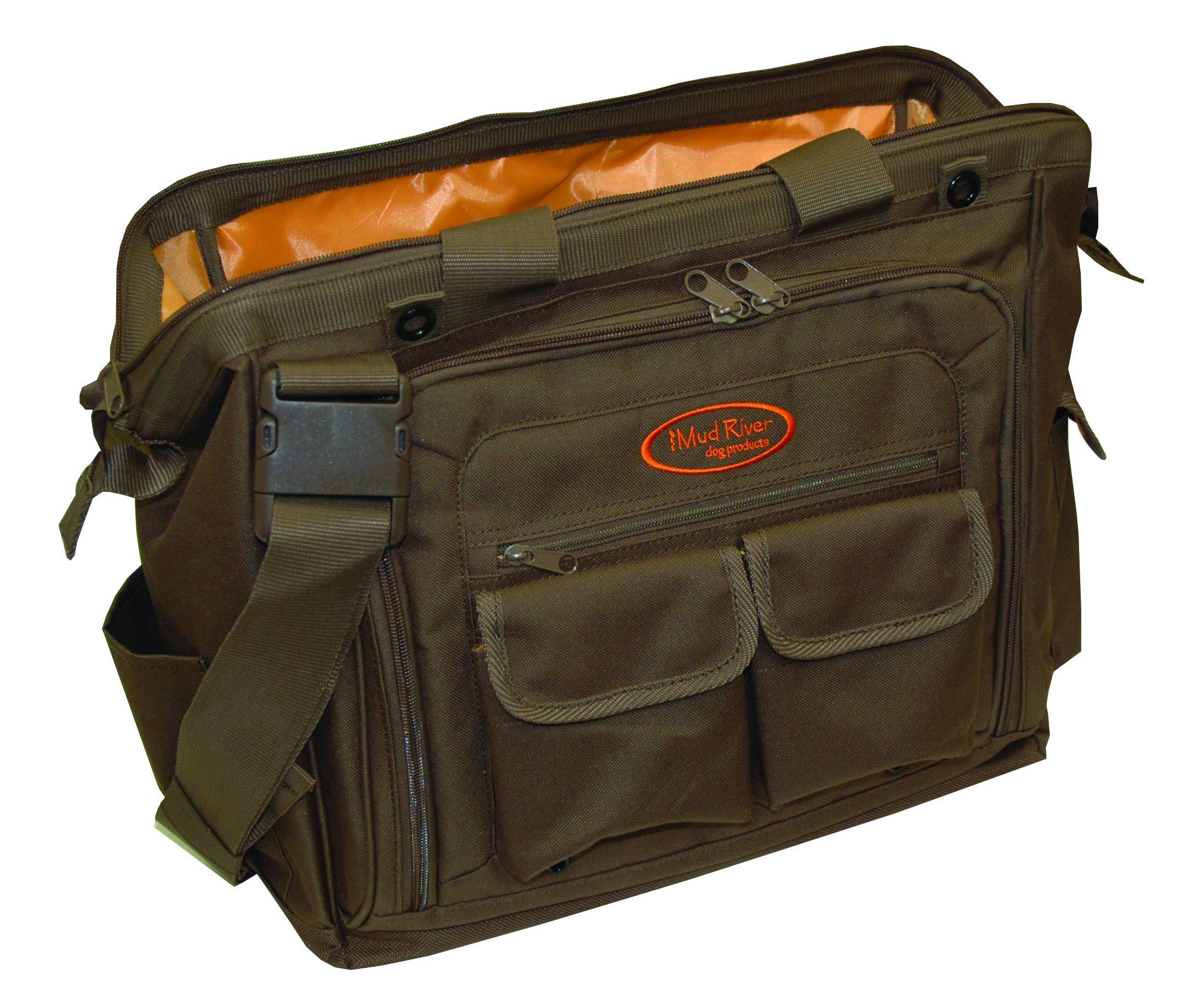 Mud River Dog Handlers Bag, 16'' x 11'' x 14'', Brown