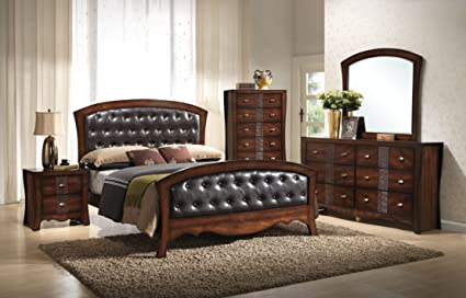 Amazon.com: Elements 5-Piece Clifton Bedroom Set, King: Kitchen & Dining