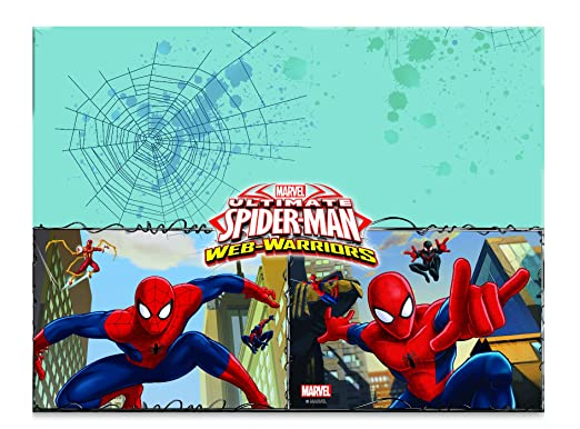 60 opinioni per Procos 85155- Tovaglia plastica Ultimate Spider-Man Web-Warriors (120x180 cm)