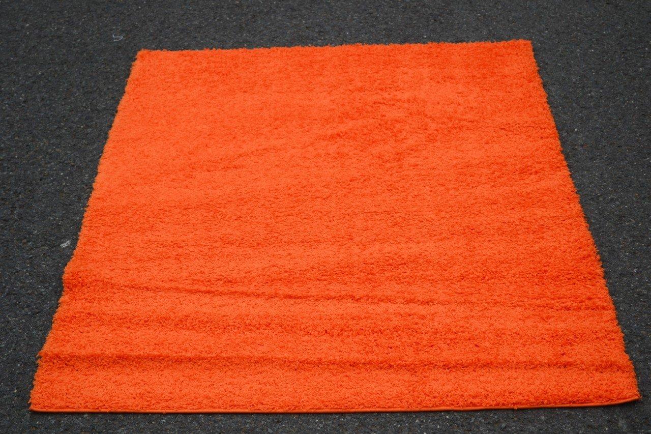 amazoncom orange shag x modern contemporary area rugs kitchen  - amazoncom orange shag x modern contemporary area rugs kitchen  dining