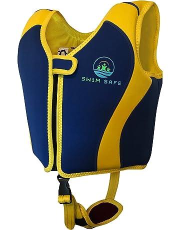 SW1M SAFE Swim Vest ◇ Premium Boys And Girls Neoprene Fixed Float Buoyancy  Jacket With Unique 3d506d6a81