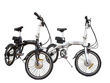 Bicicleta plegable electrica 17 kgs 8 velocidades