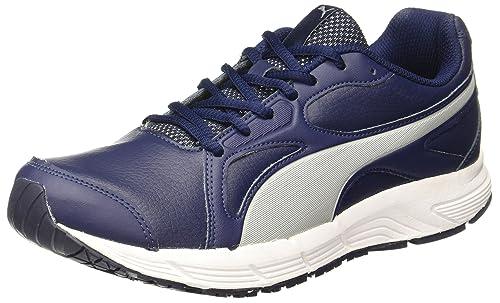 d0c5eba4bb1f Puma Men s Axis V4 Sl Idp Peacoat-Quarry Running Shoes - 10 UK India