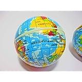 やわらかくて可愛い 地球儀ボール 1個