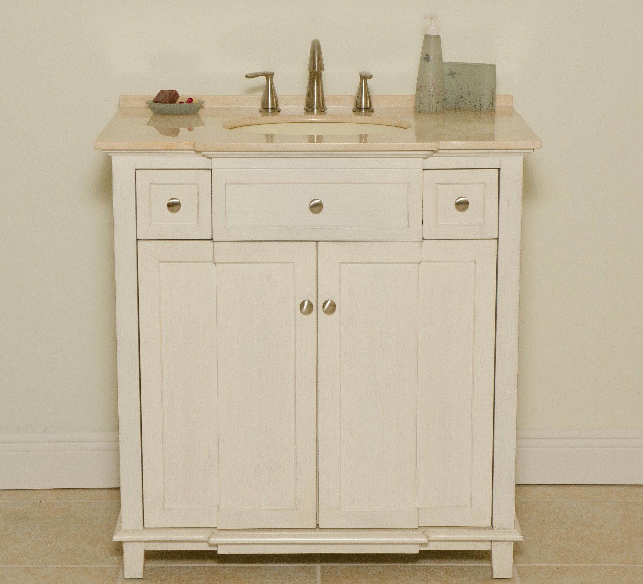 Brighton Single Sink Vanity - B&I Direct Imports - 2009WC by B & I Direct Importing