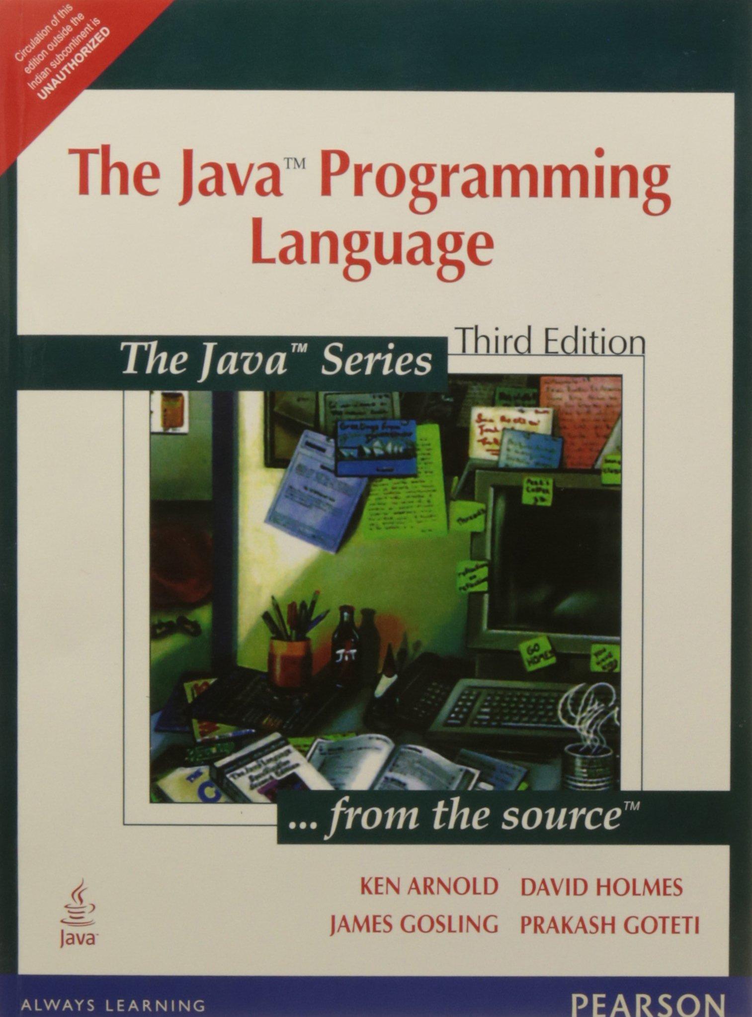 The Java Programming Language, 3e