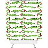 Deny Designs Andi Bird Alligator Love Shower Curtain, ...