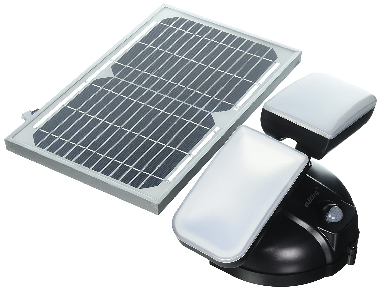 eLEDing Solar Powered Microgrid Dual Head LED Smart Lighting