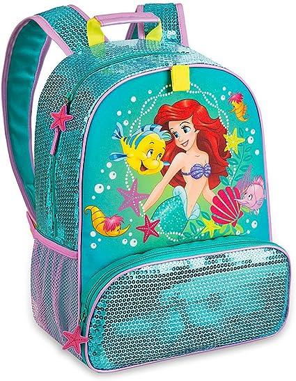 The Little Mermaid Ariel Kids BackPack New Great Detail Disney Store New