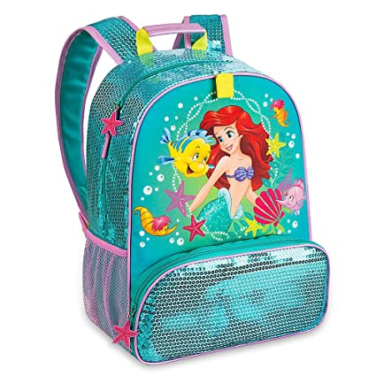 e59146b85bd Image Unavailable. Image not available for. Color  Disney Store Princess  Ariel The Little Mermaid Backpack ...