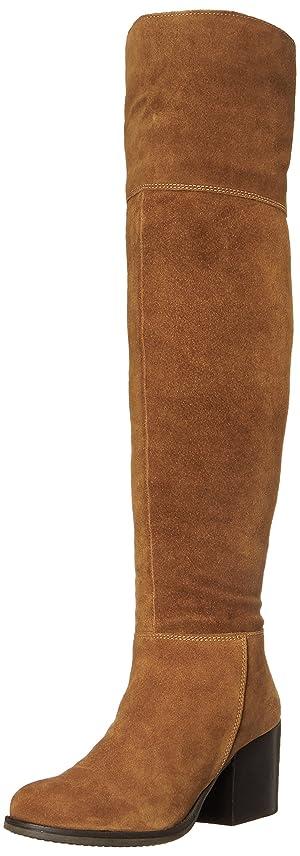Steve Madden Women's Orabela Winter Boot, Chestnut Suede, 8 M US