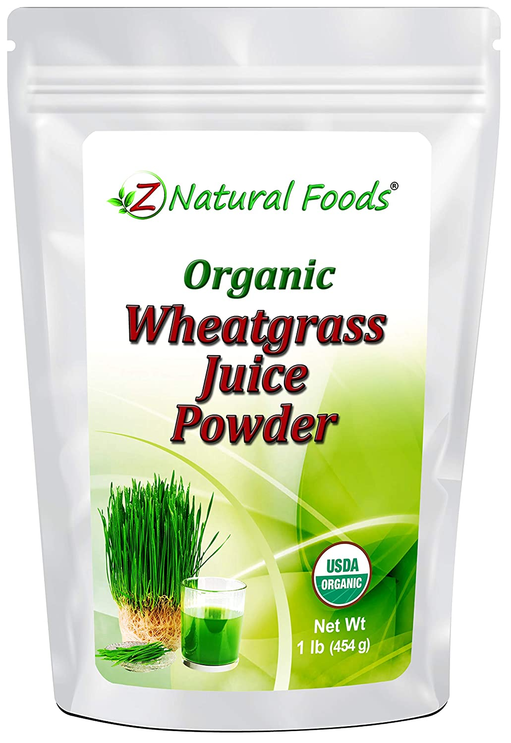 Organic Wheatgrass Juice Powder - Ultra Concentrated Green Nutrition - Incredible Superfood for Shots, Smoothies, Shakes, Recipes - Boost Energy & Vitality - Raw, Non GMO, Vegan, Kosher - 1 lb