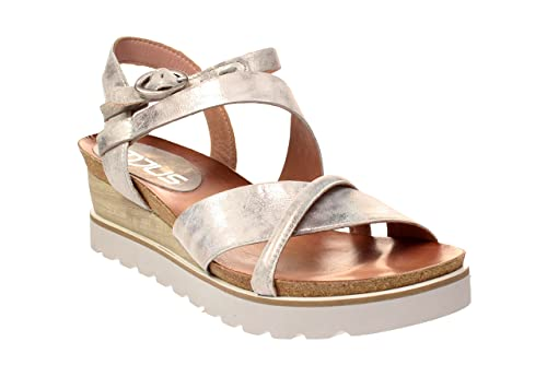 Sandali bianchi con allacciatura elasticizzata per unisex rMCeeaA5vL