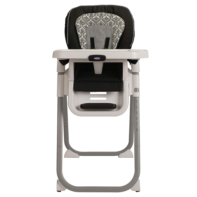 Pleasing Graco Tablefit High Chair Rittenhouse Black White Alphanode Cool Chair Designs And Ideas Alphanodeonline