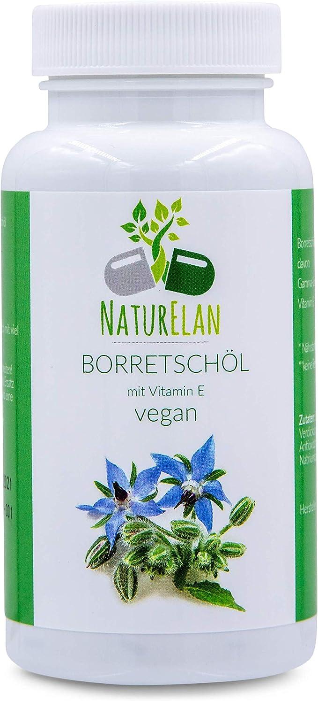 Las cápsulas de aceite de borraja veganas - 90 cápsulas que ...