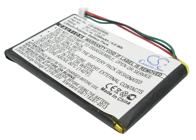 1250mAh Battery For Garmin Nuvi 200, Nuvi 255, Nuvi 260, Nuvi 270, Nuvi 265WT VINTRONS Digi-Tech CS-IQN200SL