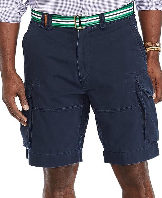 Amazon Com Polo Ralph Lauren Mens Denim Logo Cargo Shorts Polo Ralph Lauren Clothing