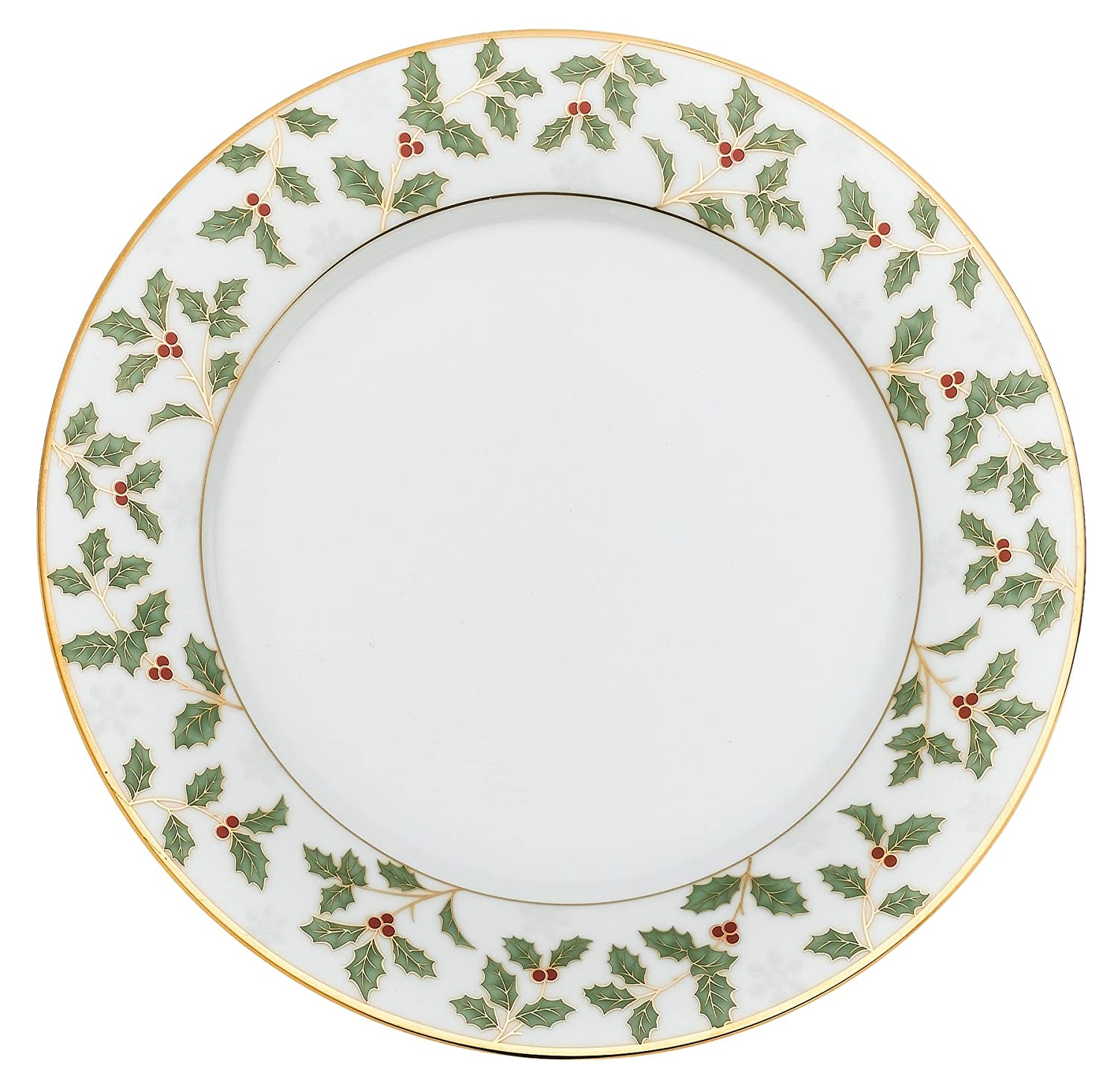 Amazon  Noritake Holly And Berry  40 Piece Set, Service For Eight: Dinnerware  Sets: Dinnerware Sets
