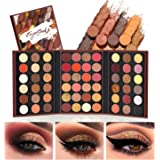 EYESEEK Eyeshadow Palette Glitter Pro 60 Colors Matte Shimmer Eye Shadow All In One Makeup Palette High Pigmented Metallic Co