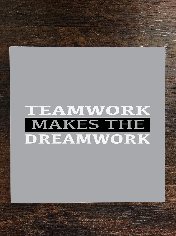 Teamwork Makes The Dreamwork One Pieceプレミアムセラミックタイルコースター4.25