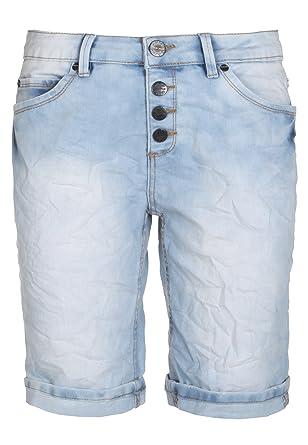 8d319dd5172d9 Sublevel Used Jeans Bermuda-Shorts für Damen | Kurze Hose für den Sommer  aus Stretch-Jeans