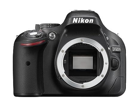 Nikon D5200 - Cámara Digital (24.1 MP, SLR Body, CMOS, Nikon F ...