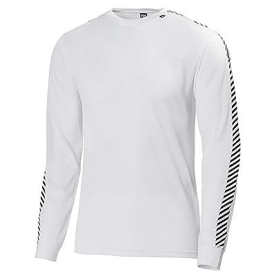 Helly Hansen Men's Lifa Stripe Crew Baselayer Top: Clothing