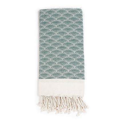 """hammam34 Pure algodón tejidas a mano lujo suave """"Tokio Dreamin"""" toalla de baño"""
