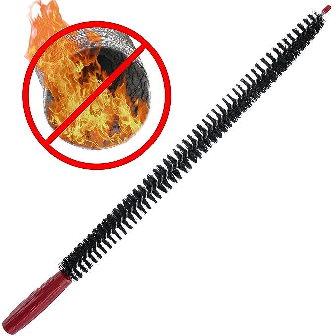 Vanitek - Cepillo para tubos de ventilación de secadora y ...