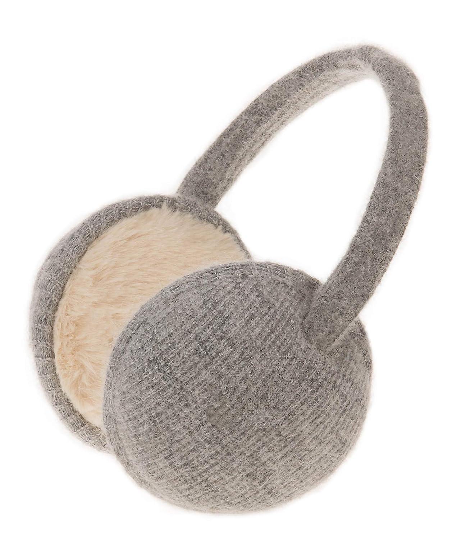 Knolee Unisex Classic Fleece Earmuffs Foldable Ear Muffs Winter Accessory Outdoor EarMuffs