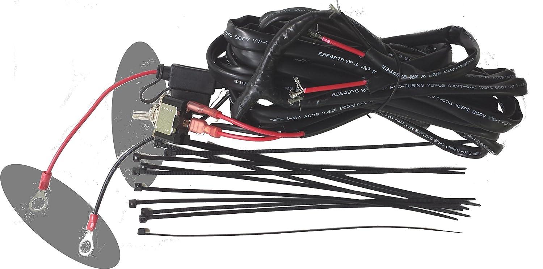 amazon com : tecscan heavy-duty golf cart atv light wire harness : sports &  outdoors