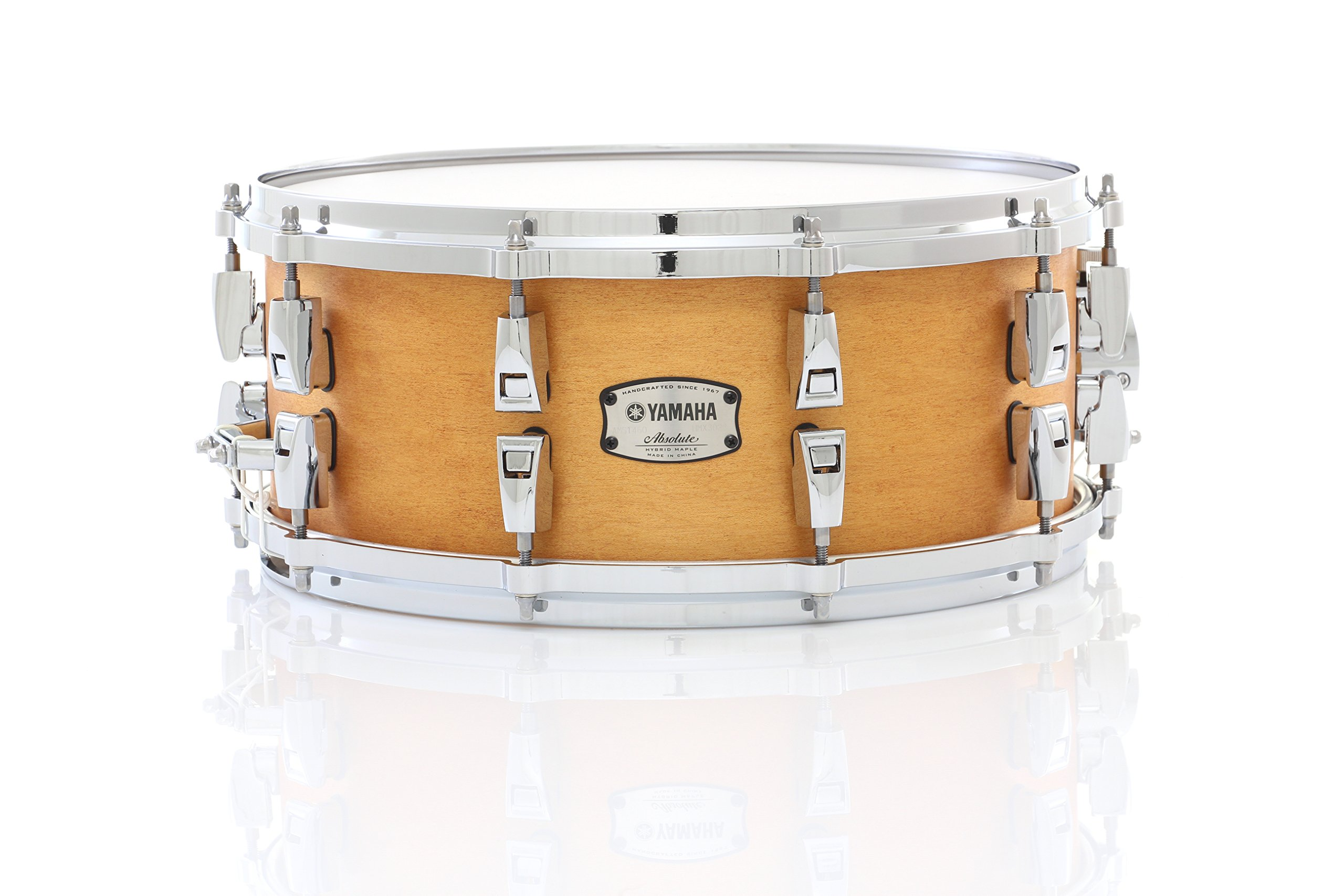 Yamaha Absolute Hybrid Maple Snare Drum 14 x 6 in. Vintage Natural by Yamaha