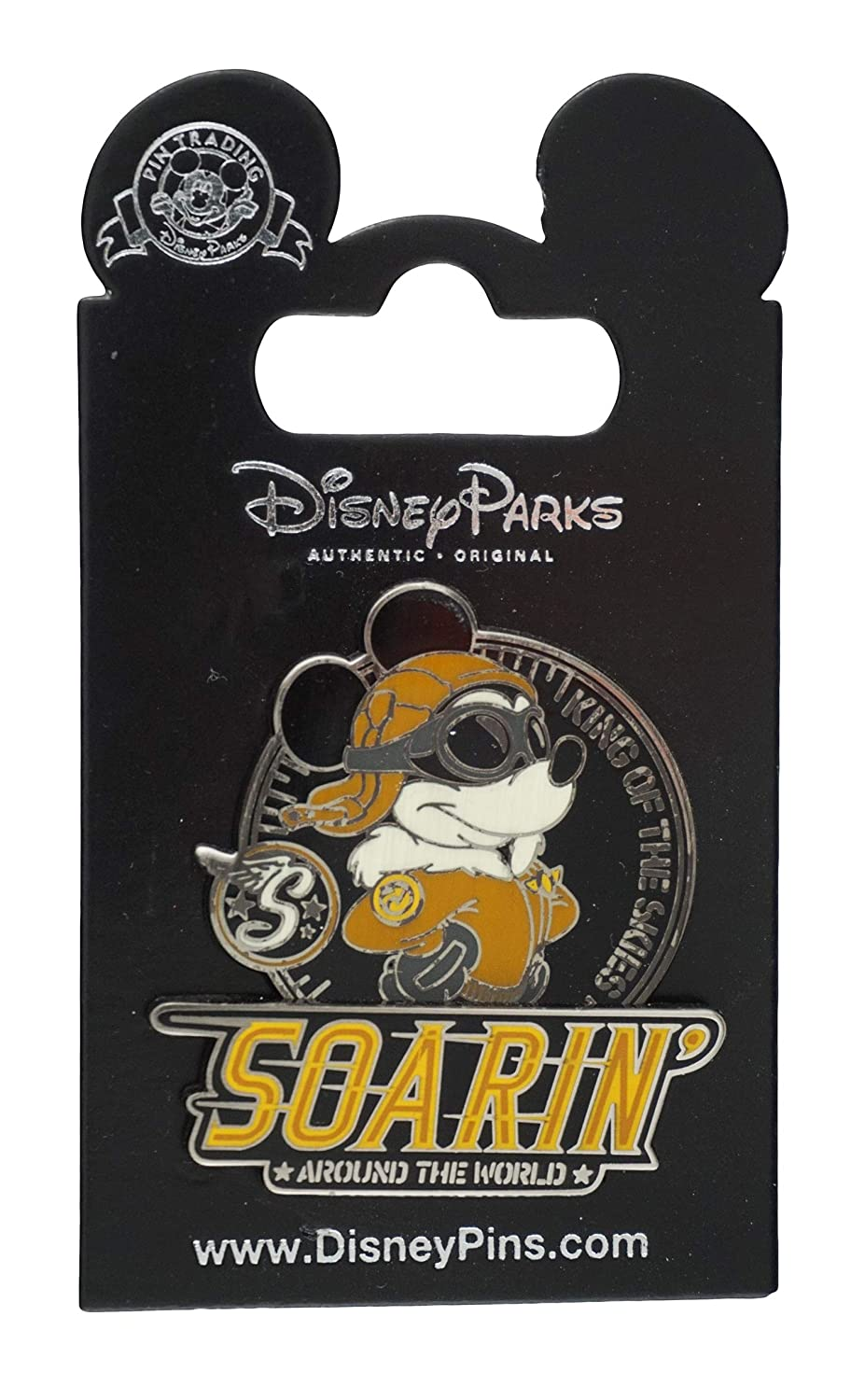 Disney Pin - Soarin' Around the World - Pilot Mickey - King of the Skies