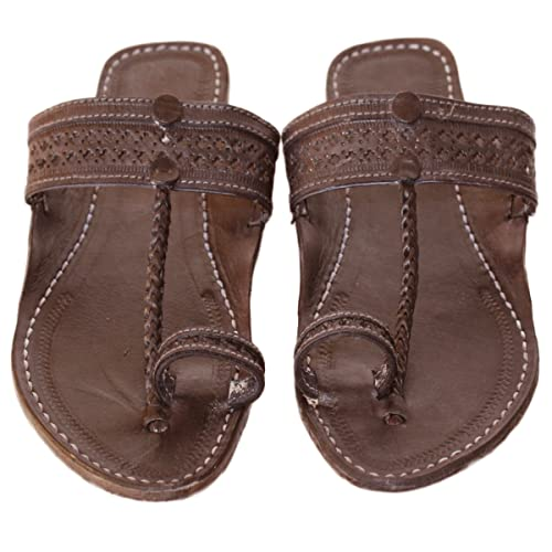 469626b7671 Image Unavailable. Image not available for. Color  Handmade kolhapuri  leather sandals