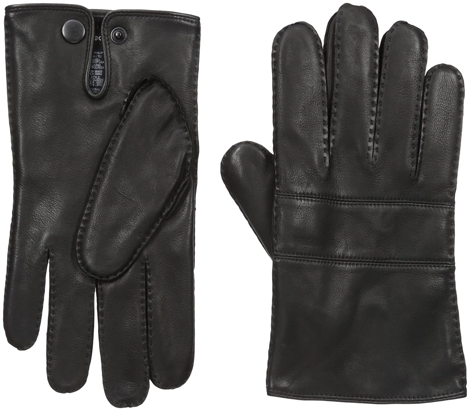 Theory Men's Grevor Classic Nappa Leather Gloves Black One Size Theory mens child code G0970007