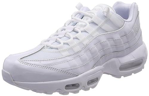 Basket mode Sneakers NIKE Air Max 95 Blanc 307960 108