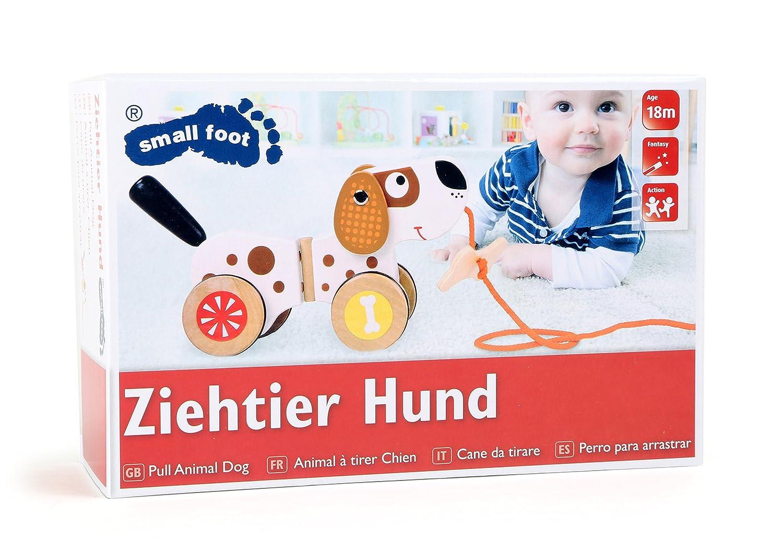 Ziehtier Hund Legler 10043 Holz Nachziehtier Ziehspielzeug Ziehhund Ziehen Neu Holzspielzeug