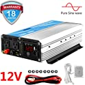 Giandel Pure Sine Wave Power Inverter 2200Watt DC 12 Volt